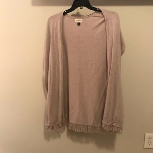 Target poncho/sweater with fringe